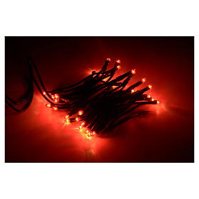 Luce natalizia 35 bollicine rosse s2