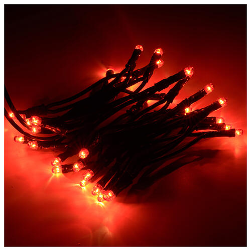 Christmas lights, 35 red light bulbs for indoor use 1