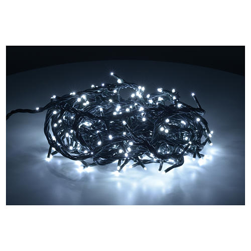 Fairy lights 300 mini LED, ice white, for indoor use 2