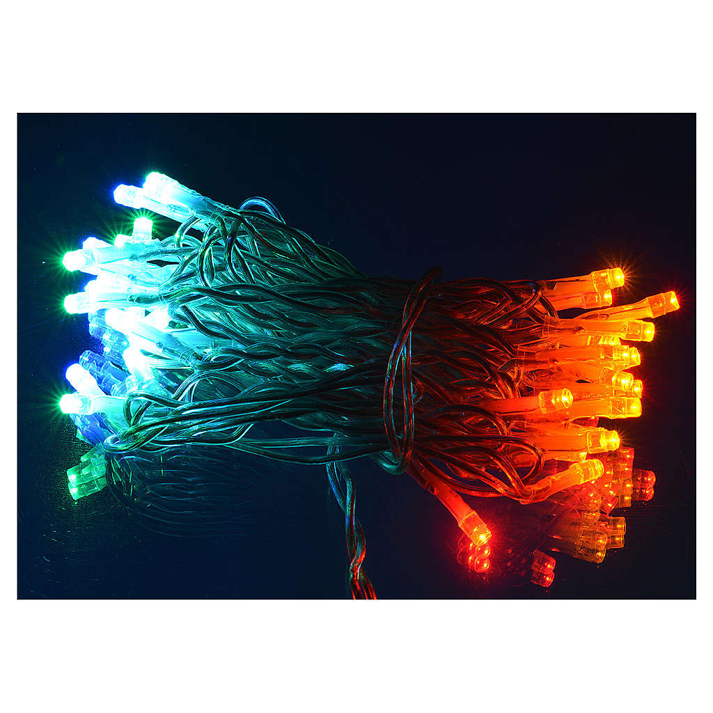 Christmas lights, 35 multicoloured lights for indoor use 3