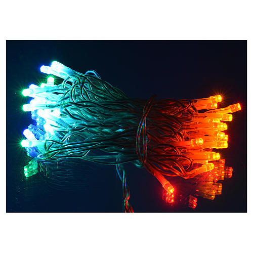 Christmas lights, 35 multicoloured lights for indoor use 2