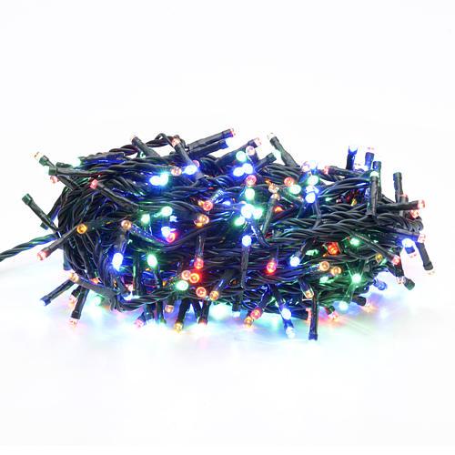 Luce Natale 300 led multicolor per interni 1