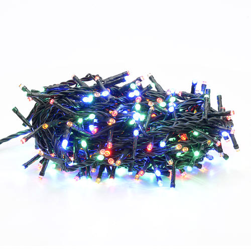 Fairy lights 300 LED, multicoloured, for indoor use 1