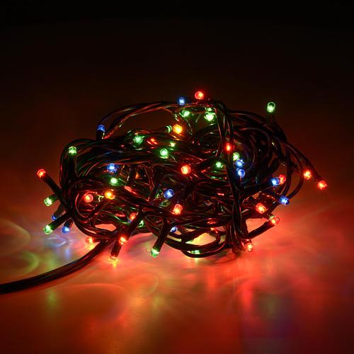 Luce natalizia 100 minilucciole multicolor per interni 2