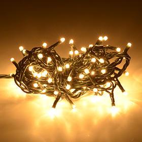 Luce Natale 100 minilucciole bianco chiaro per interni s2