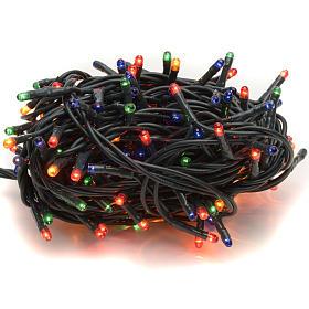 Luce Natale 180 minilucciole multicolor per interni s1