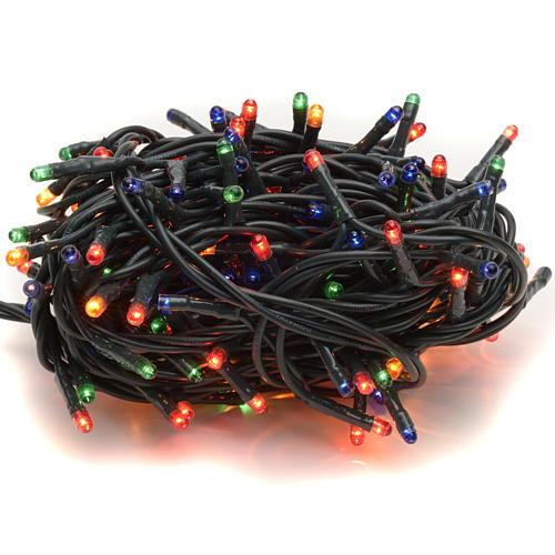 Luce Natale 180 minilucciole multicolor per interni 1