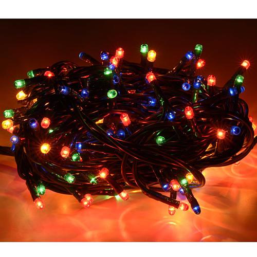 Luce Natale 180 minilucciole multicolor per interni 2