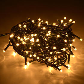 Christmas lights 180 mini lights, fair white for indoor use s2