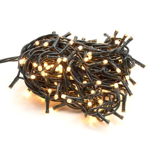 Guirlande de Noël 180 mini ampoules blanches intérie 1