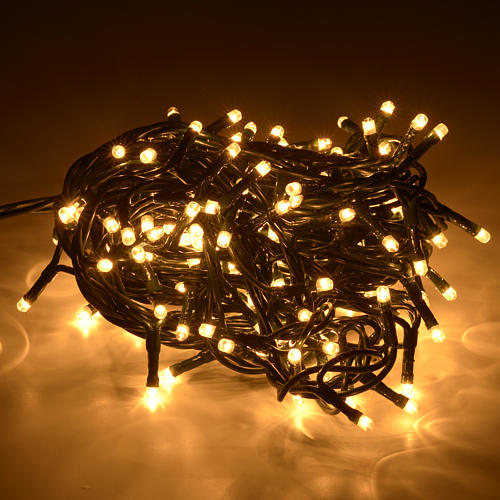 Luce Natale 180 minilucciole bianche chiare per interni 2