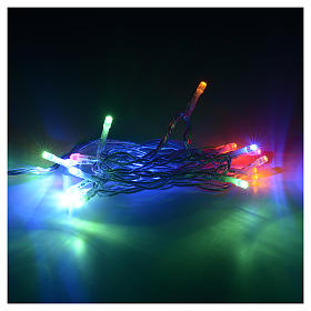 Luce di Natale 20 led multicolor per interno s2