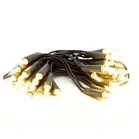 Guirlande lumineuse de noel 35 petites ampoules blanches s1