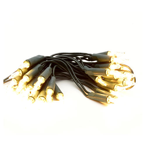 Guirlande lumineuse de noel 35 petites ampoules blanches 1