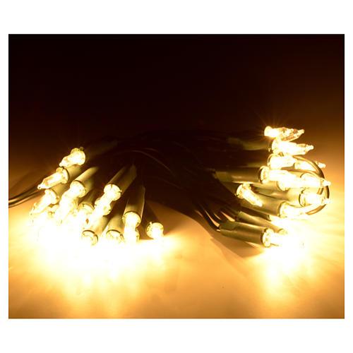 Guirlande lumineuse de noel 35 petites ampoules blanches 2