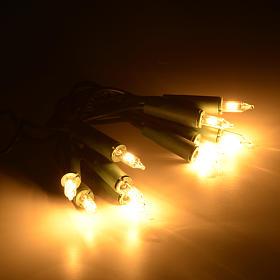 Christmas lights 10 bulbs, white s2