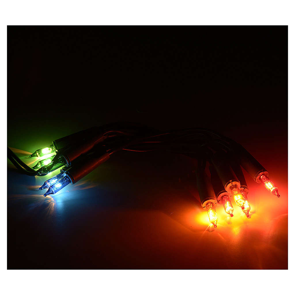 Lampki 10 wielokolorowe 3