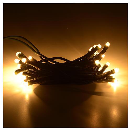 Luz de Navidad esferas 35 pz blanco para interno 2