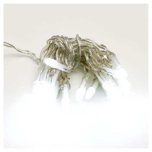 Lampki choinkowe 20 led kolor biały zimny 1