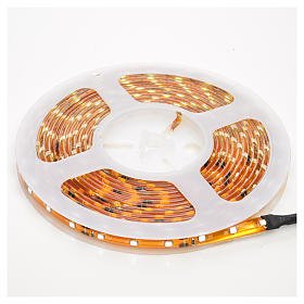 Christmas LED lights, 5mt strip, ice white, for outdoor use s1