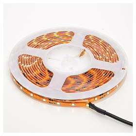 Christmas LED lights, 5mt strip, warm white, for outdoor use s1