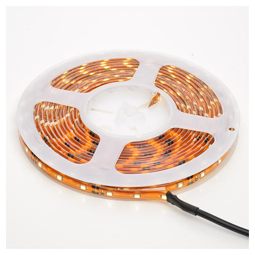 Christmas LED lights, 5mt strip, warm white, for outdoor use 1