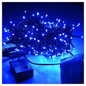 Luces de Navidad, 240 mini LED azules, interior exterior s2