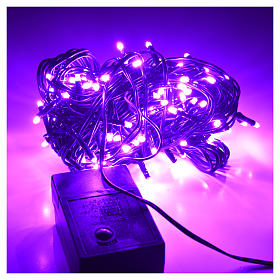 Fairy lights 120 mini LED, lilac, for outdoor use s2