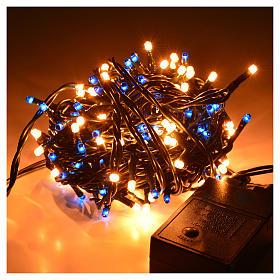 Luci di Natale 180 minilucciole blu-bianche per interni s2