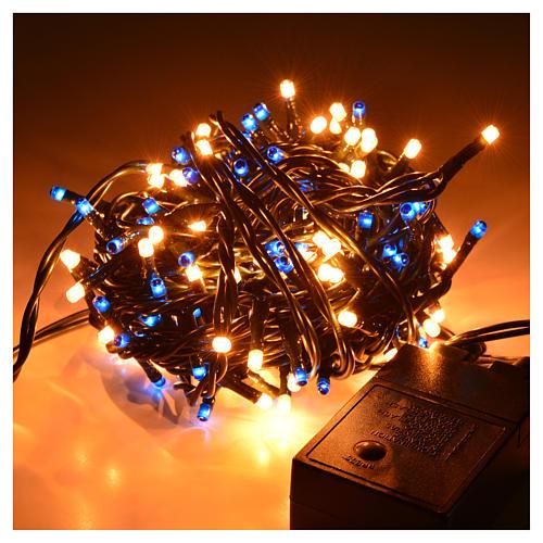 Luci di Natale 180 minilucciole blu-bianche per interni 2