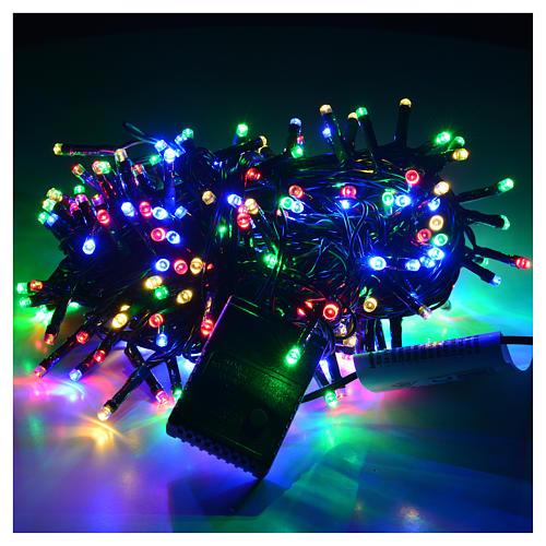 Luci di Natale 300 led multicolor per esterno-interno 2