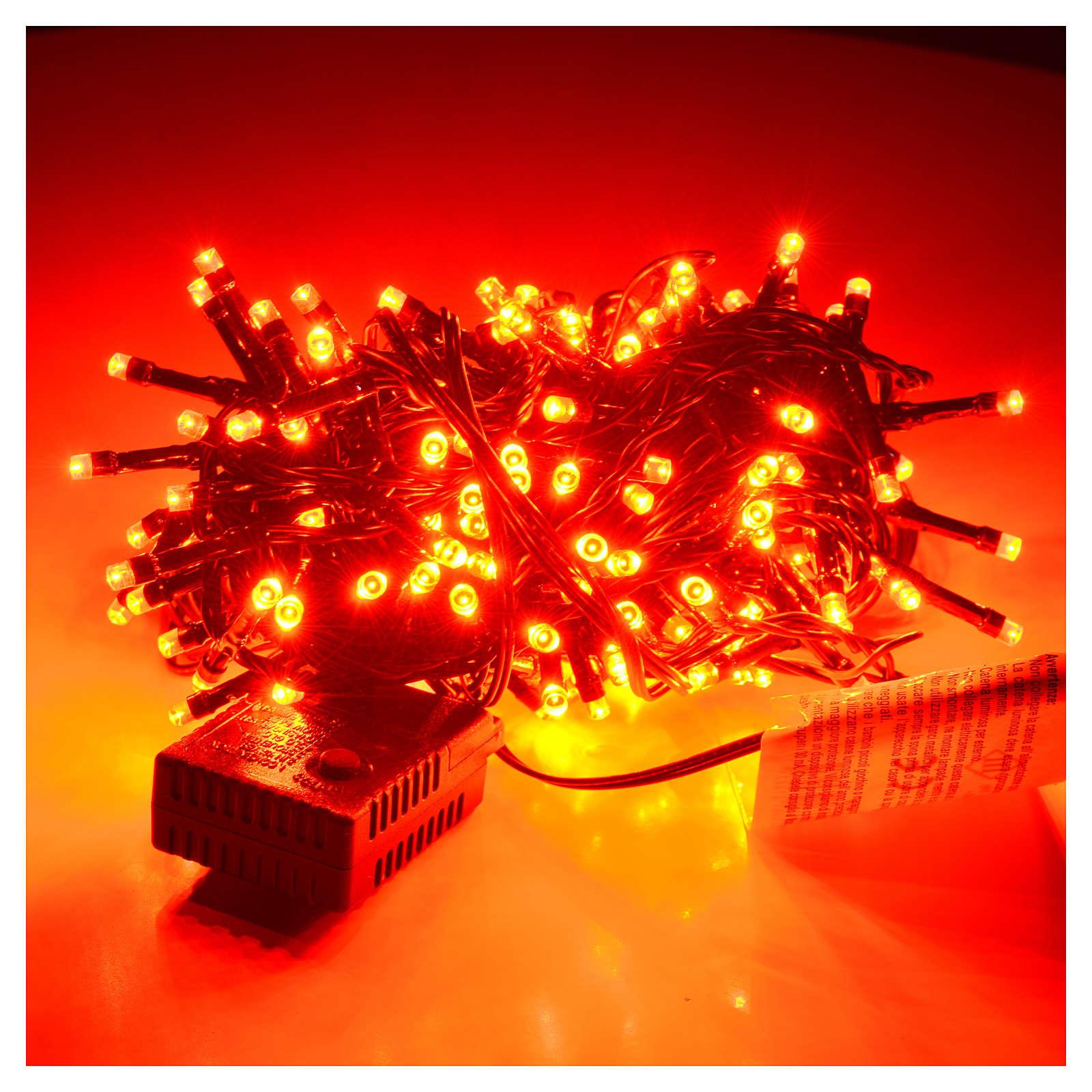 Vedo Le Luci Di Tutte Le Vetrine.Luce Di Natale 180 Led Rosse Per Esterno Interno