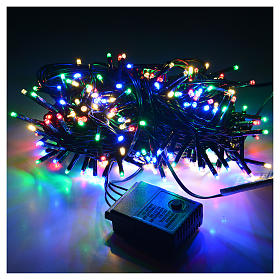 Luces de Navidad, 240 mini LED multicolores, interior exterior s2