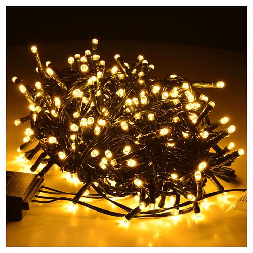Luces de Navidad 300 LED blanco cálido para exterior-interior 2