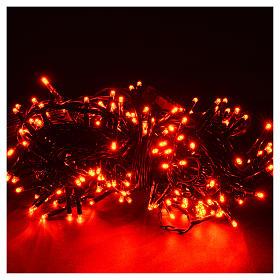 Luce natalizia 240 mini led rosse program con memoria per est/in s2