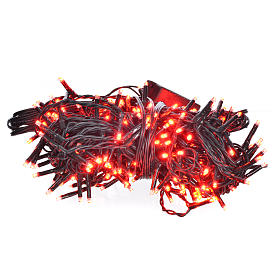 Fairy lights 240 mini LED, red, for in/outdoor use programmable s1