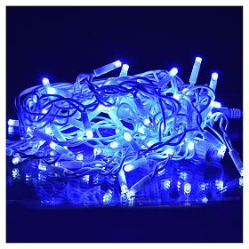 Rideau lumineux 60 leds bleus pour extérieur s6