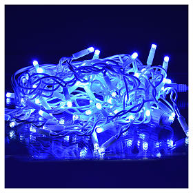Christmas lights, LED curtain, 60 LED, blue, for outdoor use s2
