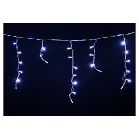 Christmas lights, LED curtain, 60 LED, ice colour, for outdoor u s4