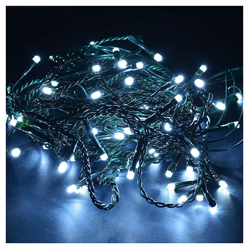 christmas lights led curtain 60 led ice white programmable 3