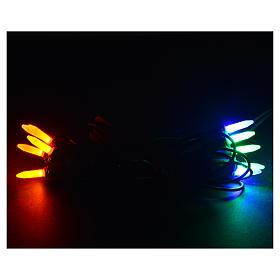 Luce di Natale 10 pisellino Led multicolor per interni s2