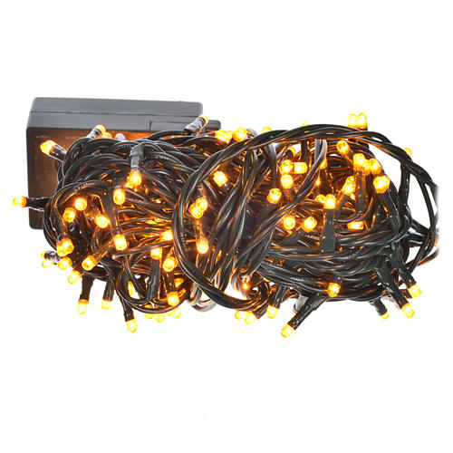 Luce natalizia minilucciole 180 col rame programmabili interni 1