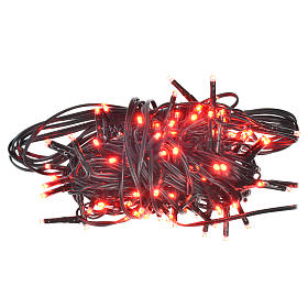 Fairy lights 120 mini LED, red, for outdoor/indoor use, programm s1