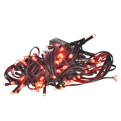 Luce natalizia 96 led programmabili rosse interno/esterno 1