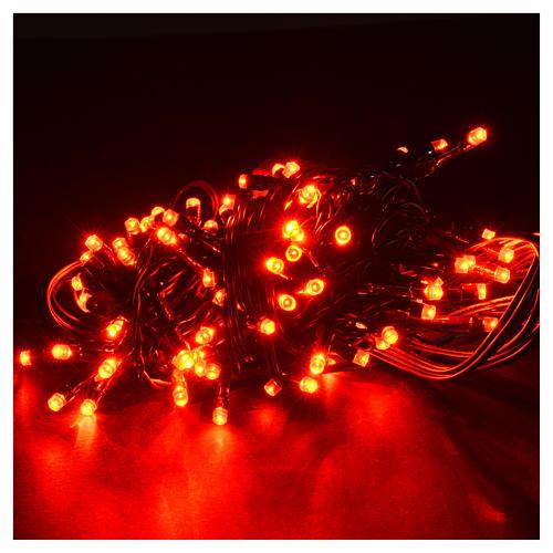 Luce natalizia 96 led programmabili rosse interno/esterno 2
