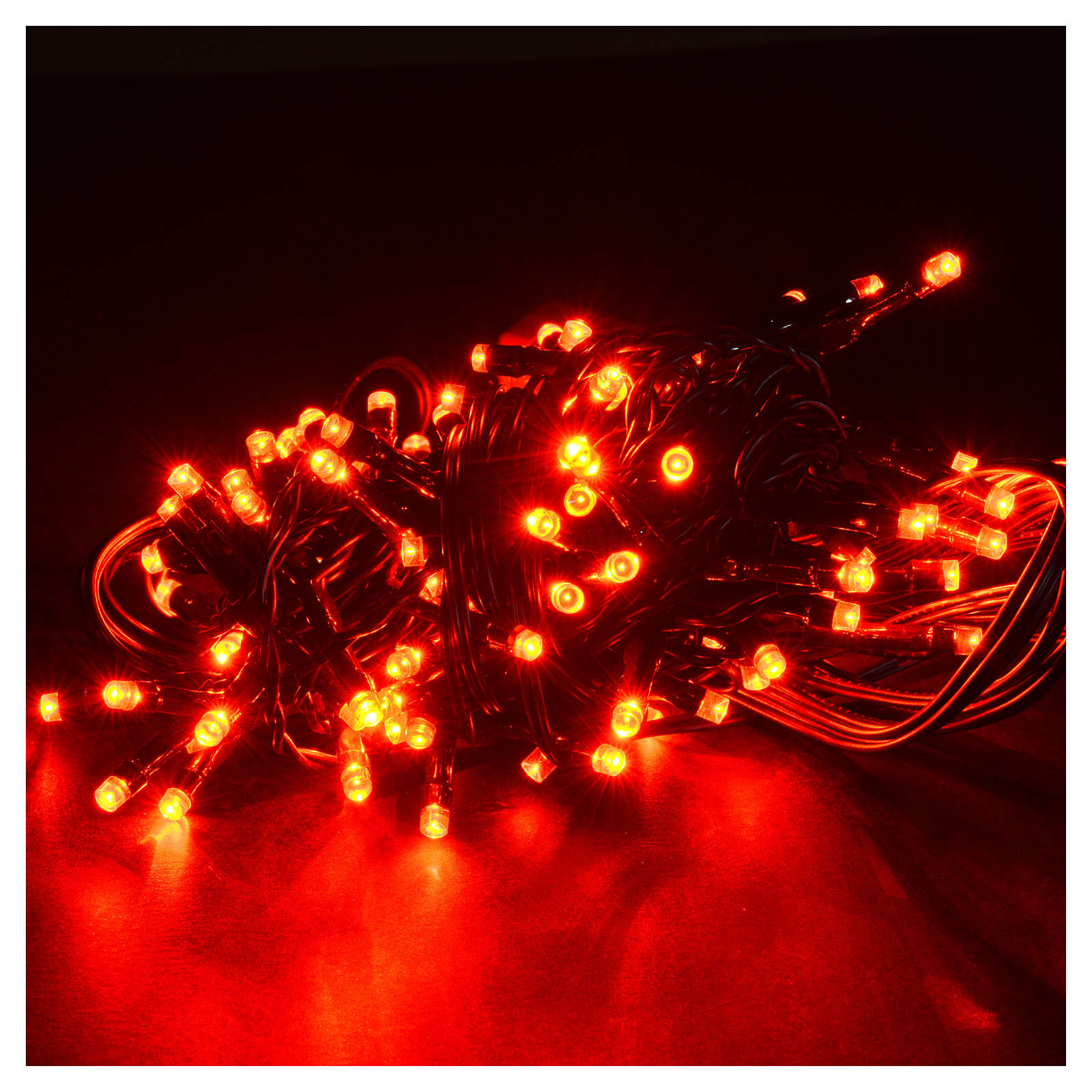 Christmas lights 96 led lights red for indoor outdoor use - Led light bulbs for exterior use ...