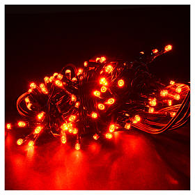 Christmas lights 96 LED lights, red for indoor/outdoor use, prog s2