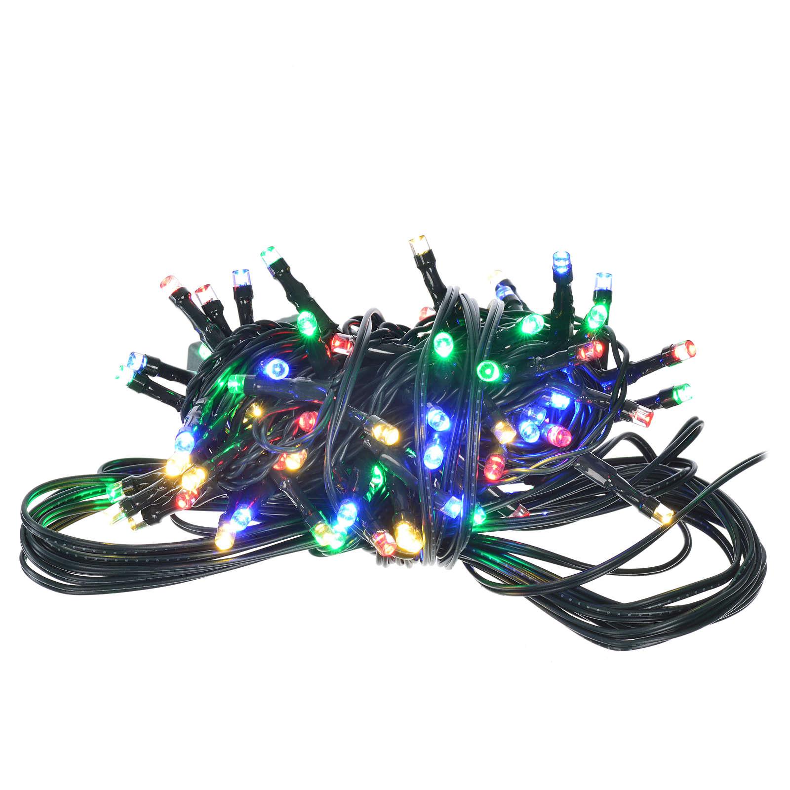 Luce natalizia 96 led programmabili multicolor interno/esterno 3