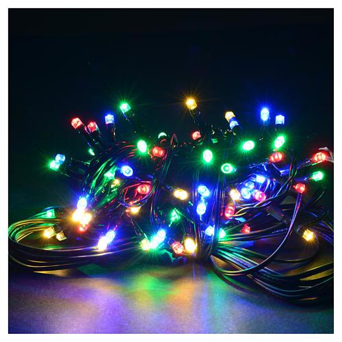 Luce natalizia 96 led programmabili multicolor interno/esterno 2