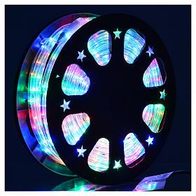 Luce natalizie tubo lux 50 metri per esterno multicolor s2